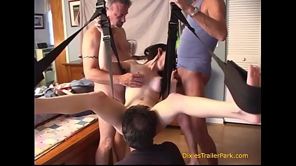 daddy-and-his-friends-fuck-me-in-the-sex-swing