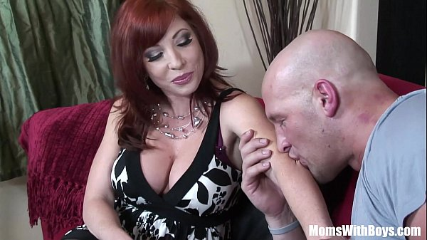 redhead-mom-brittany-oconnell-pierced-pussy-in-sexy-stockings-fucked