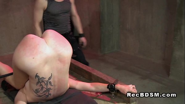 bdsm-slave-spanked-and-vibed-spanking-toy