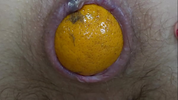 beautiful-booty-pushes-tangerines-out-of-her-hard-anal-brunette-in-nylons-masturbates-asshole-and-hairy-pussy-and-then-sniffs-and-licks-her-thong-homemade-fetish