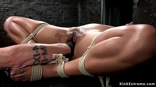ebony-slave-fisted-and-made-squirting
