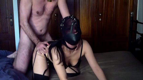 fucking-my-hooded-hot-wife-in-stockings-wearing-a-gas-mask