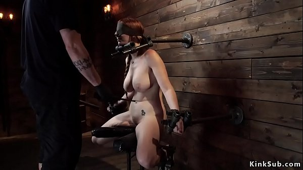 natural-busty-redhead-in-device-bondage