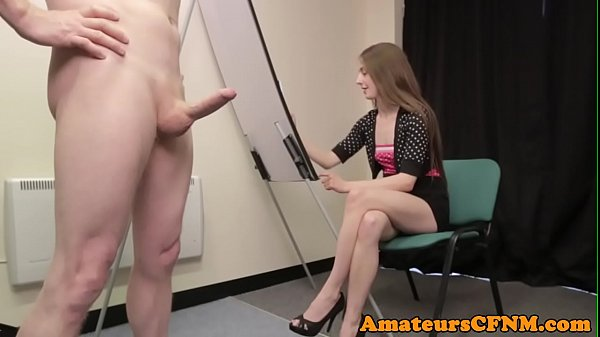 painting-domina-teasing-her-naked-slave