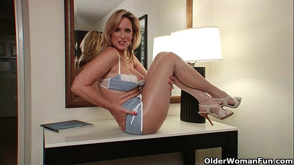 pantyhose-get-moms-pussy-hot-and-throbbing
