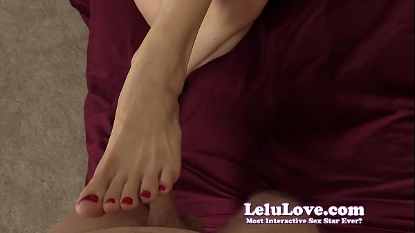 stroking-your-cock-with-my-hands-and-feet-til-you-cum-on-my-toes