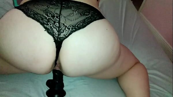 wife-wants-a-spanking-on-her-big-black-dildo